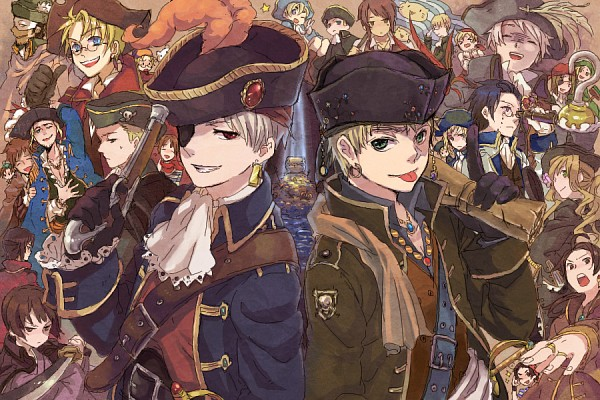 Tags: Anime, Tsu3, Axis Powers: Hetalia, Canada, Holy Roman Empire, Prussia, Sealand, Poland, Switzerland, Latvia, Spain, Greece, China