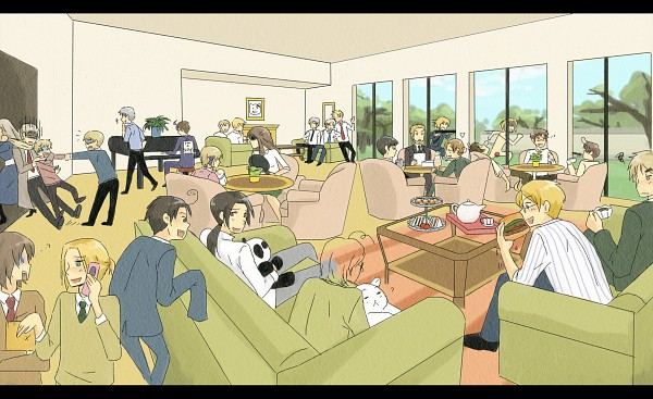 Tags: Anime, Zeras-art, Axis Powers: Hetalia, Russia, Canada, Greece, France, Germany, Poland, Estonia, Spain, Iceland, Belarus