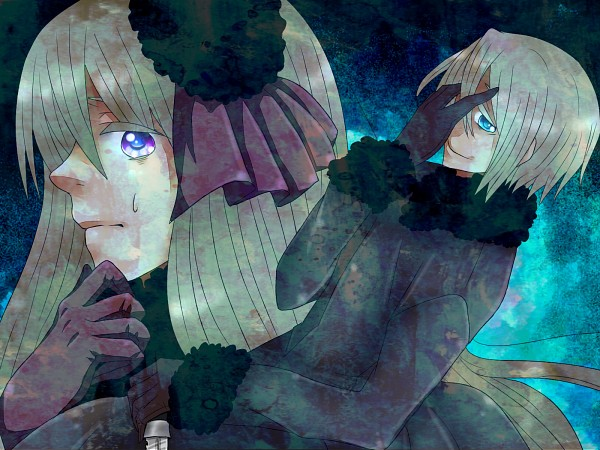 Tags: Anime, Pixiv Id 28917597, Axis Powers: Hetalia, Belarus (Male), Russia (Female), Hand Over One Eye, Fanart From Pixiv, Nyotalia, Wallpaper, Player 2, Fanart, Pixiv, Soviet Union