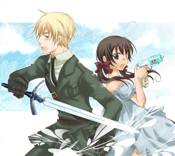 Tags: Anime, Pixiv Id 325243, Axis Powers: Hetalia, United Kingdom, Seychelles
