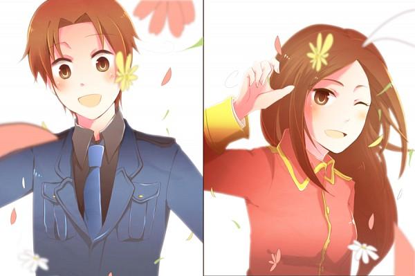 Tags: Anime, Skm939, Axis Powers: Hetalia, Fan Character, Republic Of Malta, North Italy, Fanart From DeviantART, Fanart, deviantART