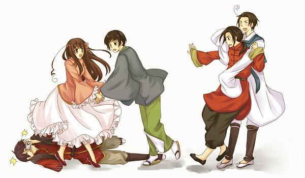 Tags: Anime, Misajiro, Axis Powers: Hetalia, Japan, Taiwan, South Korea, China, Hong Kong, Asian Countries