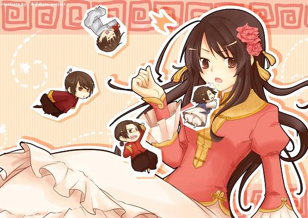 Tags: Anime, Kiko / 木子, Axis Powers: Hetalia, Hong Kong, Japan, Taiwan, South Korea, China, Asian Countries
