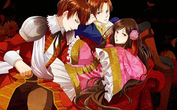 Tags: Anime, Shikiyuri, Axis Powers: Hetalia, Spain, Taiwan, South Italy, Pixiv, Mediterranean Countries, Asian Countries