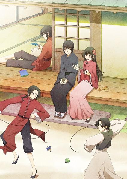 Tags: Anime, Chigu, Axis Powers: Hetalia, Hong Kong, Japan, South Korea, Taiwan, China, Pixiv, Mobile Wallpaper, Asian Countries