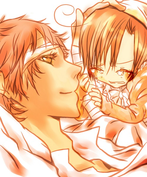 Tags: Anime, Axis Powers: Hetalia, South Italy, Spain, Artist Request