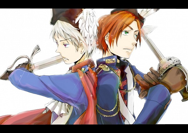 Tags: Anime, Axis Powers: Hetalia, Scotland, Prussia, Artist Request