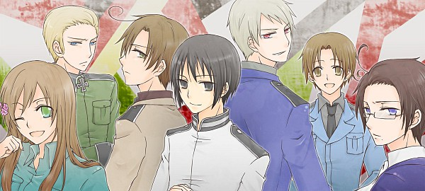 Tags: Anime, Hxjunky, Axis Powers: Hetalia, North Italy, Prussia, South Italy, Hungary, Austria, Japan, Germany, Mediterranean Countries, Asian Countries