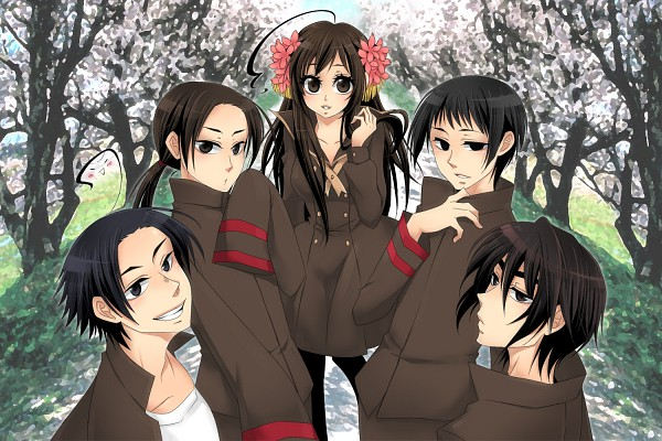 Tags: Anime, Nightcat, Axis Powers: Hetalia, Taiwan, South Korea, China, Hong Kong, Japan
