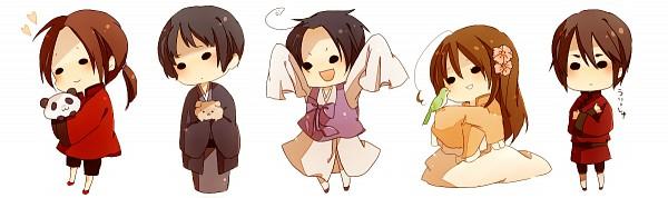 Tags: Anime, Yori, Axis Powers: Hetalia, Hong Kong, Japan, Taiwan, South Korea, China, Asian Countries