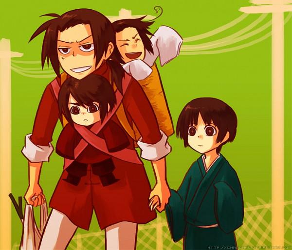 Tags: Anime, Chancake, Axis Powers: Hetalia, South Korea, China, Hong Kong, Japan, Asian Countries
