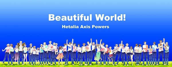 Tags: Anime, Runko, Axis Powers: Hetalia, Poland, Belarus, Germania, Lithuania, Canada, Seychelles, Rome, China, United States, Chibitalia
