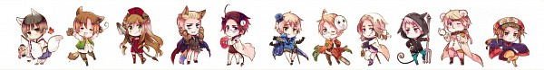 Tags: Anime, Himaruya Hidekaz, Axis Powers: Hetalia, Austria, Russia, Japan, United Kingdom, Prussia, United States, China, Germany, Hungary, North Italy