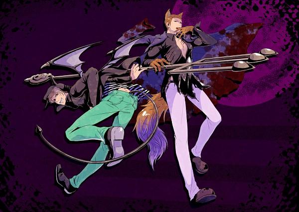 Tags: Anime, K-anzu, Axis Powers: Hetalia, Germany, Prussia, Hetaween, Fanart, Pixiv, Hetaween 2010
