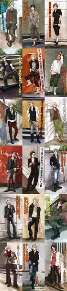 Tags: Anime, Jyurietta, Axis Powers: Hetalia, China, Spain, North Italy, Poland, France, Austria, Lithuania, Sweden, Switzerland, United Kingdom
