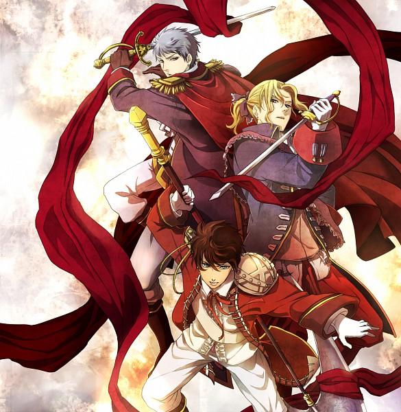 Tags: Anime, Andu-ril, Axis Powers: Hetalia, Prussia, France, Spain