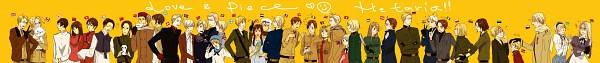 Tags: Anime, Axis Powers: Hetalia, Finland, Liechtenstein, Egypt, Russia, Austria, Norway, Hong Kong, North Italy, Sweden, Japan, Greece