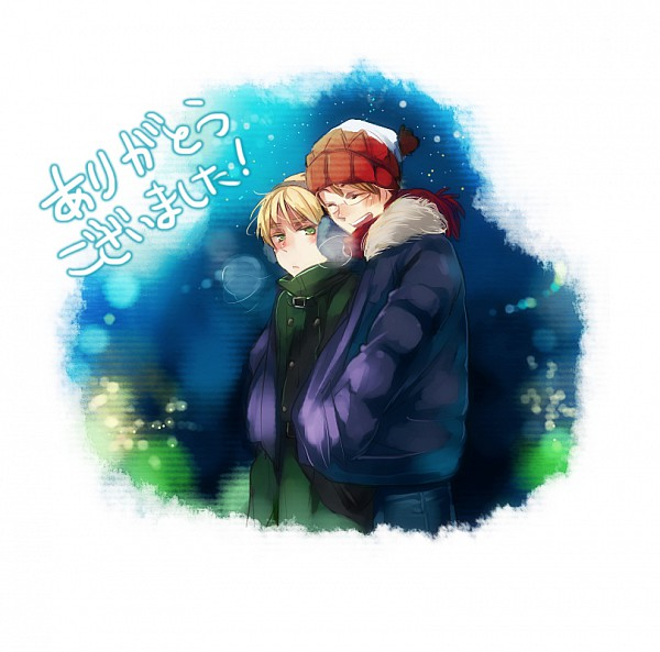 Tags: Anime, Axis Powers: Hetalia, United States, United Kingdom, Artist Request, Allied Forces