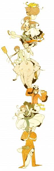 Tags: Anime, Kamitsuki, Axis Powers: Hetalia, Vietnam, Taiwan, Koreacat, Mochi Korea, China, Taiwancat, South Korea, Hong Kong, Japancat, Thailand