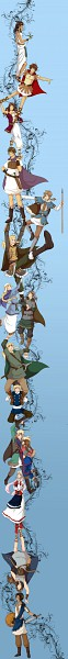 Tags: Anime, Fir3h34rt, Axis Powers: Hetalia, Ancient Greece, Magyar, United Kingdom, Fan Character, Saami, Russia, Ancient Egypt, Baltia, Kievan Rus, Germania