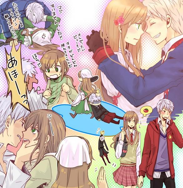 Tags: Anime, Axis Powers: Hetalia, Prussia, Hungary