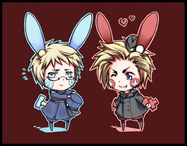 Tags: Anime, Drowdragon, Axis Powers: Hetalia, Sweden, Denmark, Minun (Cosplay), Plusle (Cosplay), Pokémon (Cosplay), Nordic Countries