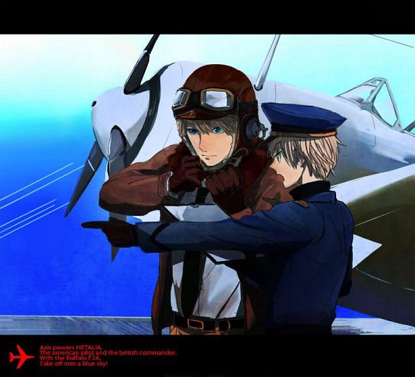 Tags: Anime, Axis Powers: Hetalia, United Kingdom, United States, Allied Forces