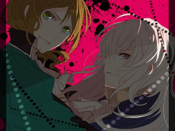Tags: Anime, Kuranose, Axis Powers: Hetalia, Hungary (Male), Prussia (Female), Nyotalia, Pixiv, Fanart