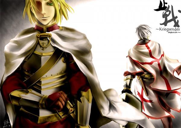 Tags: Anime, Stvictoria (Hotusconclusus), Axis Powers: Hetalia, Poland, Prussia, Battle Of Grunwald, History, Fanart, deviantART