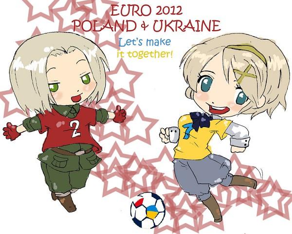 Tags: Anime, Axis Powers: Hetalia, Poland, Ukraine, Soviet Union