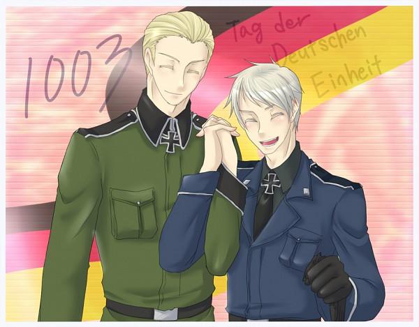 Tags: Anime, Pixiv Id 583156, Axis Powers: Hetalia, Germany, Prussia