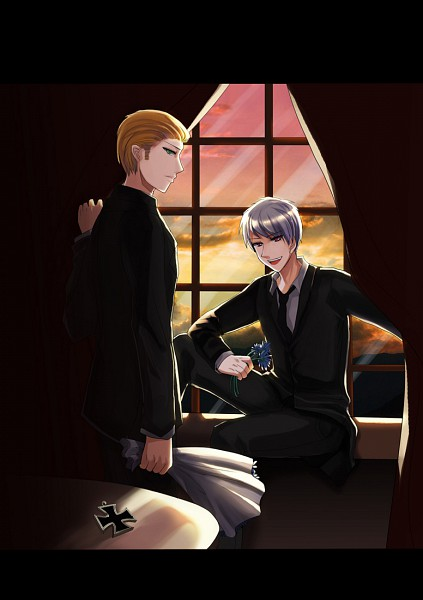 Tags: Anime, Pixiv Id 736956, Axis Powers: Hetalia, Germany, Prussia, Axis Power Countries