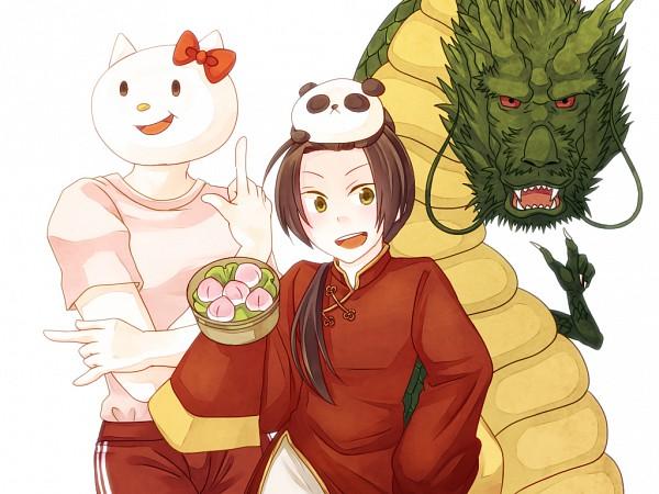 Tags: Anime, Axis Powers: Hetalia, DRAGON BALL, Shinatty-chan, Shenron, China, Allied Forces, Asian Countries