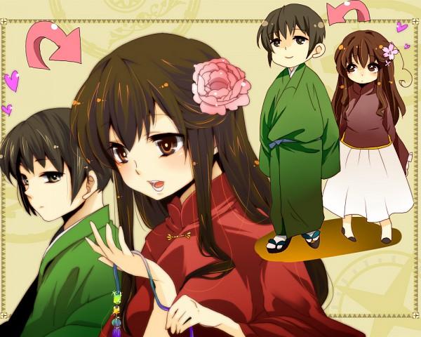 Tags: Anime, Giko, Axis Powers: Hetalia, Japan, Taiwan, Asian Countries, Axis Power Countries