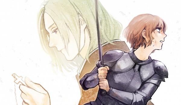 Tags: Anime, Axis Powers: Hetalia, France, Jeanne d'Arc (Axis Powers: Hetalia), Pixiv, Allied Forces