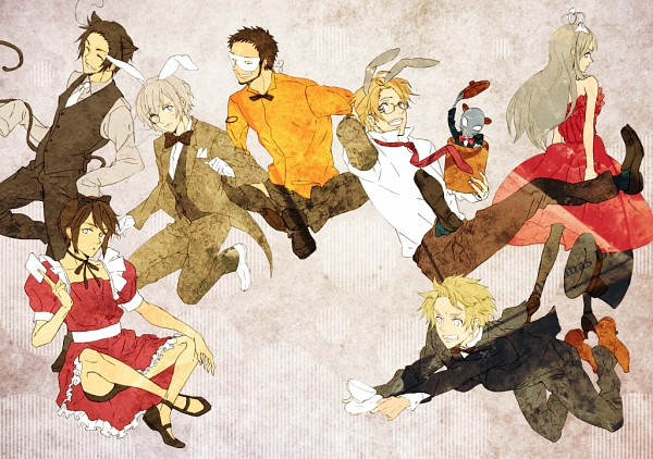 Tags: Anime, Tachibana (Pixiv130510), Axis Powers: Hetalia, Turkey, Tonni, United Kingdom, South Korea, United States, Hong Kong, Iceland, Belarus, Mediterranean Countries, Soviet Union