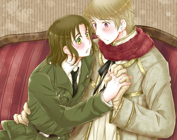 Tags: Anime, Axis Powers: Hetalia, Lithuania, Russia, Artist Request, Soviet Union, Allied Forces, Rusliet