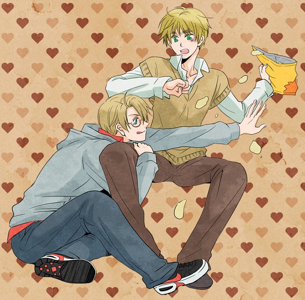 Tags: Anime, Axis Powers: Hetalia, United Kingdom, United States, Chips, Allied Forces