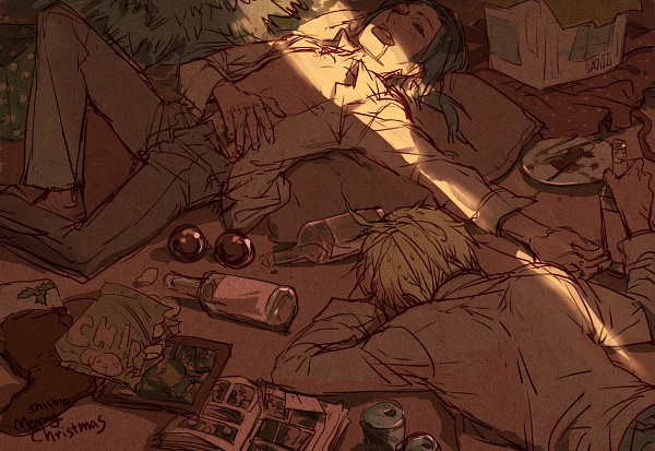 Tags: Anime, shishio*, Axis Powers: Hetalia, China, United States, Fanart, Pixiv, Allied Forces, Asian Countries