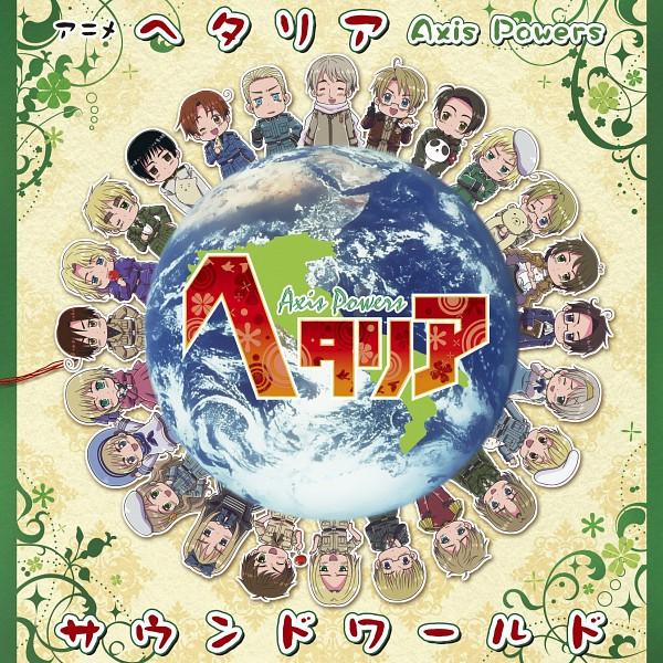 Tags: Anime, Kannan Masaaki, Axis Powers: Hetalia, Austria, Switzerland, North Italy, Poland, Estonia, Sealand, Liechtenstein, Latvia, Finland, China