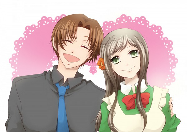 Tags: Anime, Axis Powers: Hetalia, North Italy, Hungary, Mediterranean Countries, Axis Power Countries