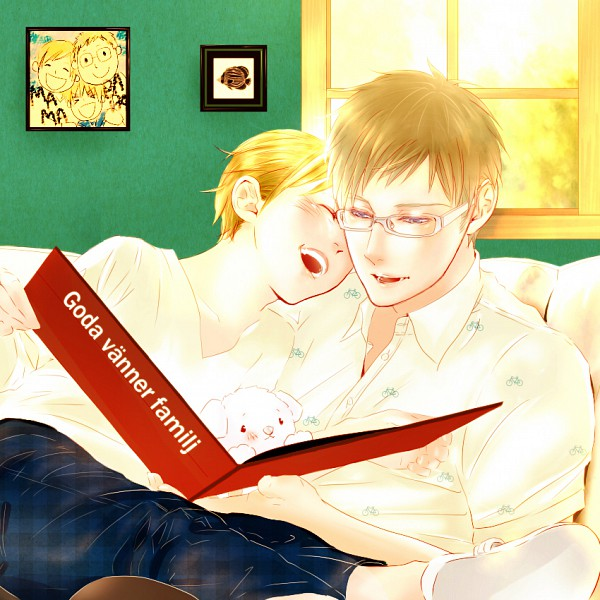 Tags: Anime, Axis Powers: Hetalia, Hanatamago, Finland, Sweden, Artist Request