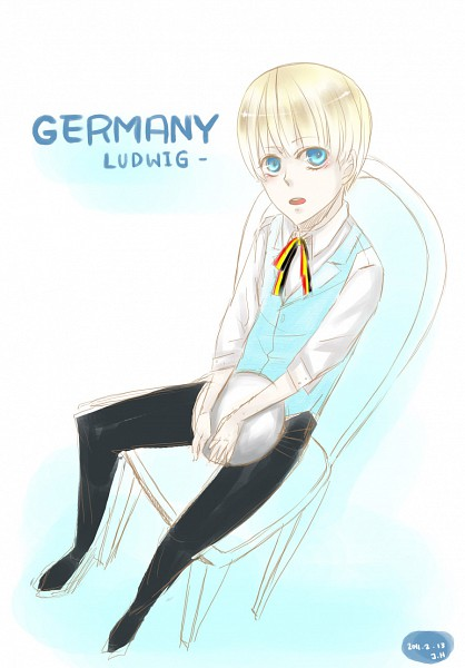 Tags: Anime, Axis Powers: Hetalia, Germany, Artist Request, Axis Power Countries