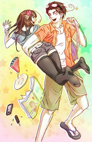 Tags: Anime, Nijijii, Axis Powers: Hetalia, Taiwan, South Korea, Mobile Wallpaper, Pixiv, Asian Countries