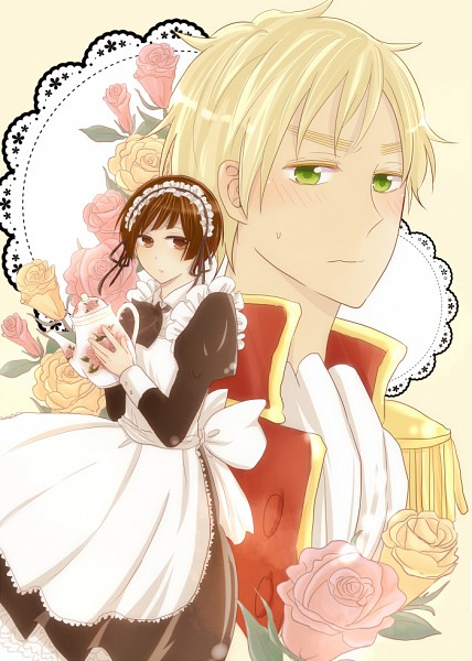Tags: Anime, Axis Powers: Hetalia, United Kingdom, Japan, Pixiv, Axis Power Countries, Allied Forces, Asian Countries