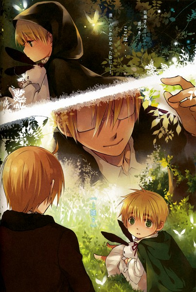 Tags: Anime, Saiyki, Axis Powers: Hetalia, United Kingdom, United States, Scan, Pixiv, Fanart, Mobile Wallpaper, Doujinshi Cover, Allied Forces