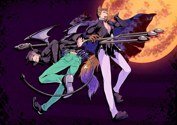 Tags: Anime, K-anzu, Axis Powers: Hetalia, Germany, Prussia, Fanart, Pixiv, Hetaween 2010, Hetaween