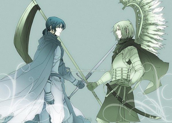 Tags: Anime, Pixiv Id 2060575, Axis Powers: Hetalia, Poland, Lithuania, Knight, Hussar, History, Pixiv, Soviet Union