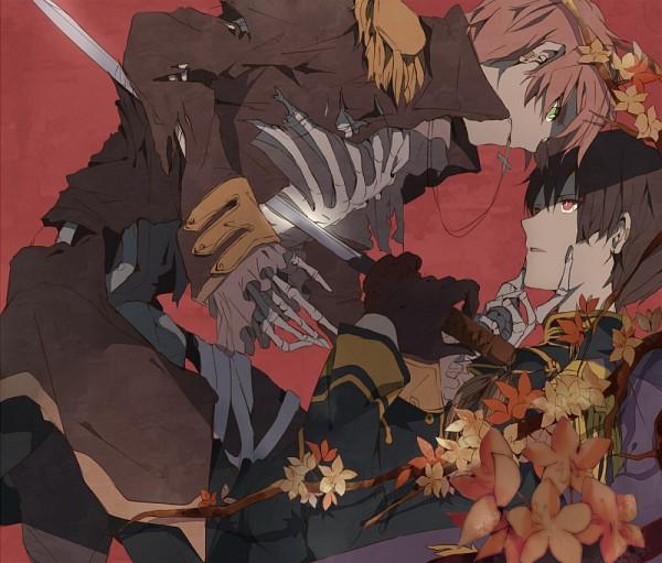 Tags: Anime, Pixiv Id 2239587, Axis Powers: Hetalia, United Kingdom, Japan, Fanart, Pixiv