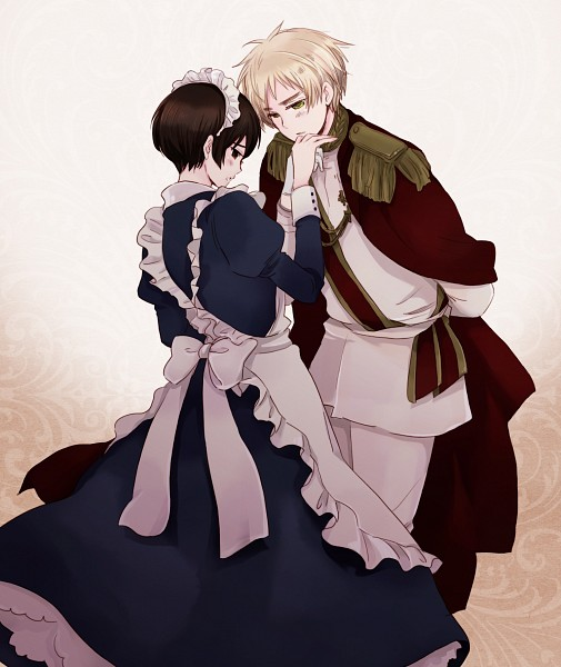 Tags: Anime, Momo (Pixiv1603885), Axis Powers: Hetalia, United Kingdom, Japan, Asian Countries, Allied Forces
